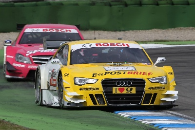 Audi A5 DTM finishes debut on podium