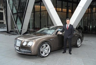 BENTLEY BOOSTS PROFITS AND TURNOVER