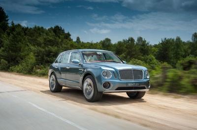 Bentley Motors' North American Debuts