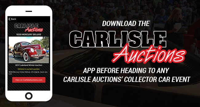 Car Auction Apps >> Carlisle Auctions Yea There S An App For That