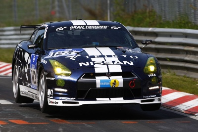 GT Academy Program on a High at Nürburgring