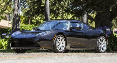 George Clooney auctions his 2008 Tesla 'Signature 100' Roadster at Gooding & Company's Pebble Beach Auctions