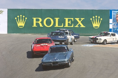 More Than 500 Historic Race Cars Accepted for Rolex Monterey Motorsports Reunion