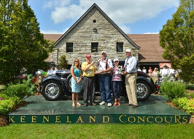 9th Keeneland Concours d'Elegance names 1929 Stutz Best of Show