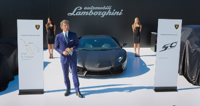 Automobili Lamborghini Announces Its 50th Anniversary Celebration Plans (1963-2013) In California