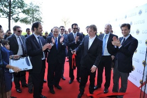 Kimi Raikkonen Launches Lotus In Lebanon