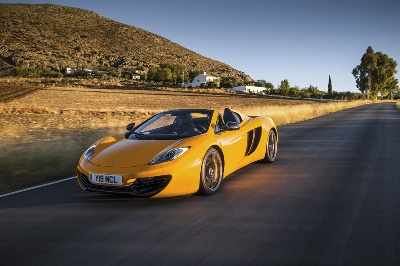 12C SPIDER TO MAKE ITALIAN PREMIERE AT THE 37TH BOLOGNA MOTOR SHOW