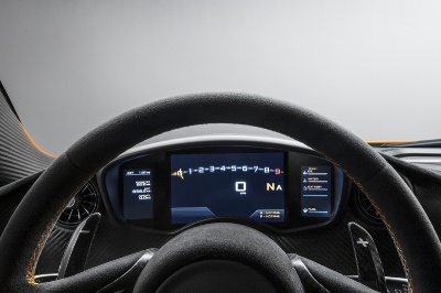 THE McLAREN P1™: THE INSIDE VIEW