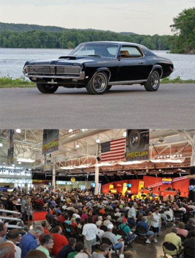 MECUM AND VELOCITY BRING LIVE AUCTION TO DES MOINES