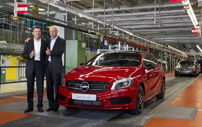 Start of production at the Mercedes-Benz Rastatt plant - Offensive in the Compact Segment