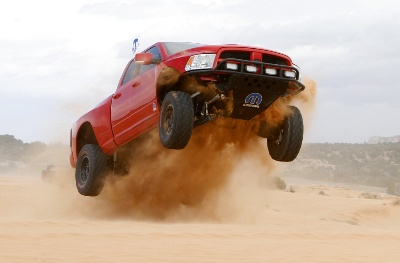 Mopar Ram Runner Wins Truck Duel in the Desert