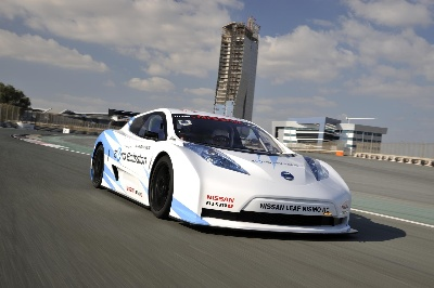 NISSAN LEAF NISMO RC (RACING COMPETITION) TAKES ZERO EMISSION STRATEGY TO A NEW DIMENSION - THE RACE TRACK