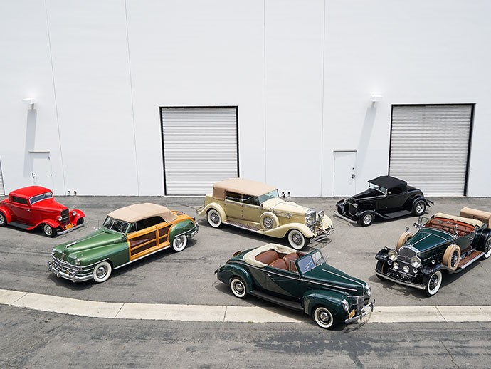 American Classics, European Convertibles, and Cars of the Stars