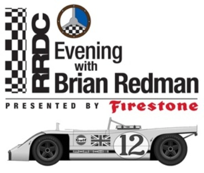 Firestone Returns As Presenting Sponsor of RRDC Evening With Brian Redman in Long Beach