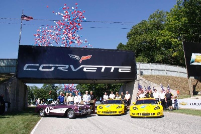 ROAD AMERICA AND CHEVROLET CELEBRATE 60 YEARS OF CORVETTES AT WORLD TRIBUTE