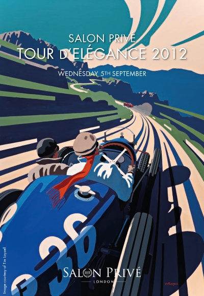 21-Mile 'Tour D'Elegance' To Open Salon Prive London 2012