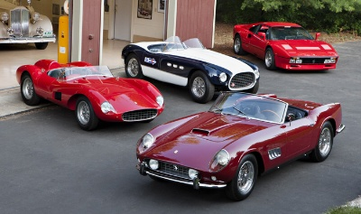 Gooding & Company Announces the distinguished Sherman M. Wolf Ferrari Collection for its Pebble Beach Auctions