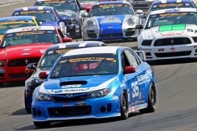 SUBARU ROAD RACING TEAM FINISHES IN TOP 12 AT A GRUELING WATKINS GLEN