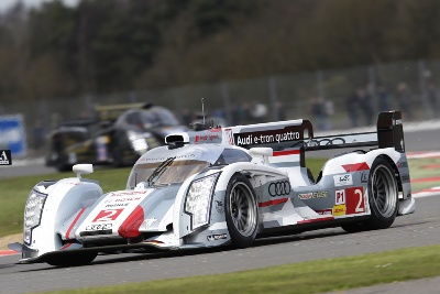 WEC ONE-TWO VICTORY FOR AUDI AT SILVERSTONE