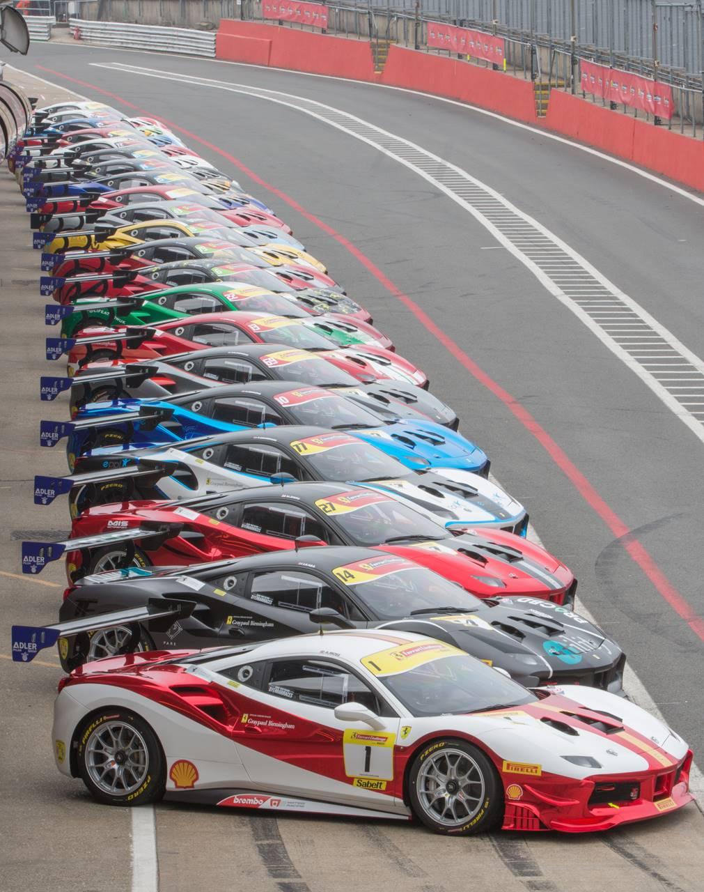 Ferrari Challenge Uk Title Decider At Silverstone 2122 September 2019 Conceptcarz Com