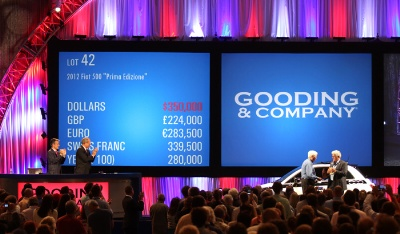 Gooding & Company's Saturday Pebble Beach Auction realizes more than $60 million