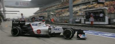 Chinese GP Qualifying : Sauber F1 Team
