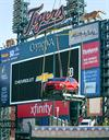 Style And Innovation: Two All-New Chevrolet Vehicles Top Comerica Park Fountain