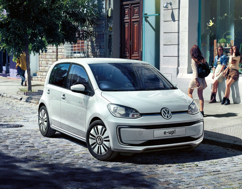POWER UP! VOLKSWAGEN'S NEW ALL-ELECTRIC E-UP! IS OPEN FOR ORDER