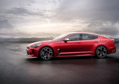 Fastback Kia Stinger Revealed In European Specification