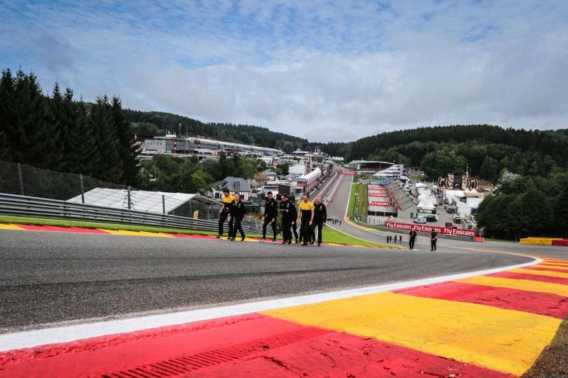 Formula 1 Pirelli Belgian Grand Prix Preview