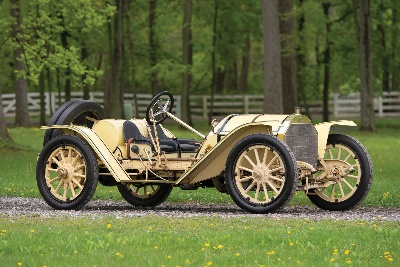 Following 65 Years in One of America's Original Collections, the 'Austie' Clark 1911 Mercer Type 35R Raceabout Prepares for Auction Debut