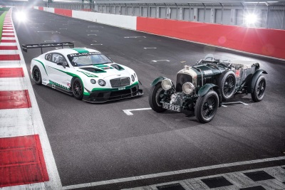 GENERATIONS OF SPEED: BENTLEY CONTINENTAL GT3 AND THE BIRKIN 'BLOWER'
