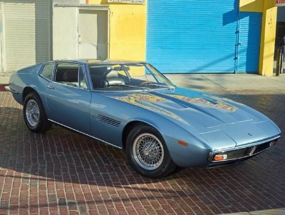 Fabulously Presented 1971 Maserati Ghibli Joins the Ever Growing Line Up of Incredible Offerings at Russo and Steele's 3rd Annual Newport Beach Collector Automobile Auction