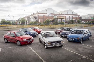 1976-2016: FORD FIESTA CELEBRATES 40 YEARS OF PRODUCTION
