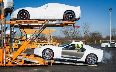 First 2015 Corvette Z06s on Their Way to Customers