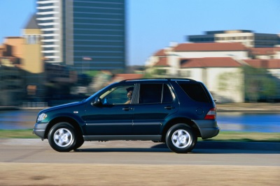 20 years of the luxury SUV from Mercedes-Benz: Off-roader for day-to-day driving and adventure