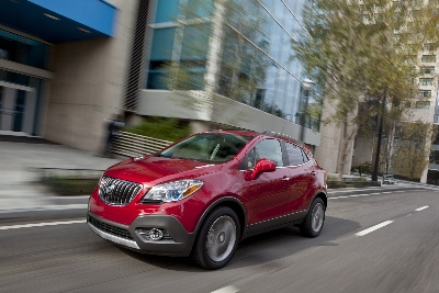 2013 ENCORE RECEIVES IIHS, NHTSA SAFETY ACCOLADES