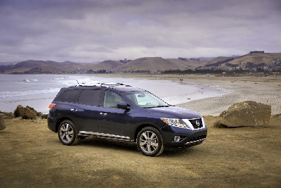 Nissan Pathfinder Listed Among 10 Best Family Cars By Edmunds.Com And Parents Magazine For 2013