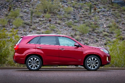 REDESIGNED 2014 KIA SORENTO EARNS 5-STAR SAFETY RATING FROM U.S. GOVERNMENT