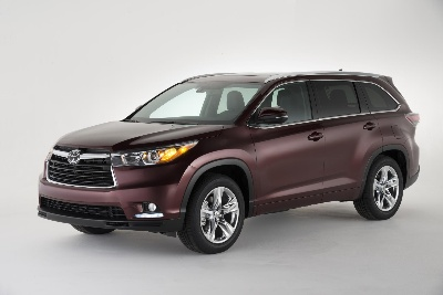 ALL-NEW 2014 TOYOTA HIGHLANDER RINGS IN THE NEW YEAR WITH ALL THE BELLS AND WHISTLES