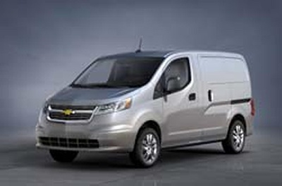 CHEVROLET ENTERS SMALL CARGO VAN SEGMENT
