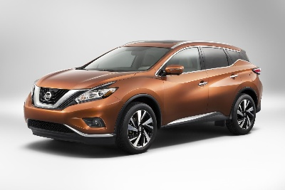 Design takes center stage with launch of stunning all-new 2015 Nissan Murano crossover