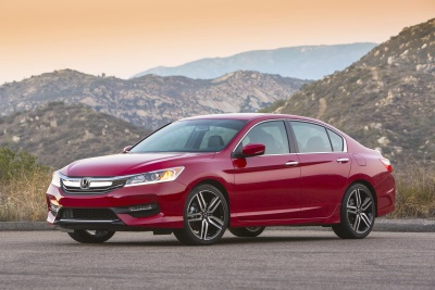 2016 ACCORD RAISES ITS GAME WITH DYNAMIC STYLING, CHASSIS AND BODY UPGRADES, AVAILABLE HONDA SENSING