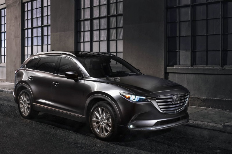 2018 Mazda CX-9 Flagship Three-Row Crossover SUV Receives Long List Of Upgrades
