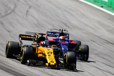 Renault Sport Racing Formula One Team – Formula 1 Brazilian Grand Prix, Sunday