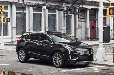 NEW 2017 CADILLAC XT5 CROSSOVER ARRIVES IN APRIL