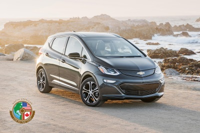 CHEVROLET BOLT EV IS 2017 NORTH AMERICAN CAR OF THE YEAR