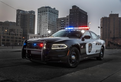 FCA US Provides Officer Protection Package Technology In All 2017 Dodge Charger Pursuit Law Enforcement Vehicles