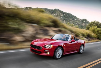 2017 Fiat 124 Spider Abarth Wins Small Convertible Category At Topless In Miami Competition