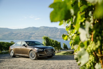 2017 GENESIS G90 EARNS INSURANCE INSTITUTE FOR HIGHWAY SAFETY TOP SAFETY PICK+ AWARD